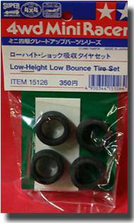 Tamiya Slot Cars   N/A Low-Height Low Bounce Tire TAM15126