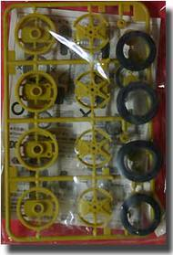 Tamiya Slot Cars   N/A Lrg Dia One Way Wheel Set TAM15246
