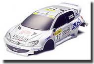 Tamiya Slot Cars  1/32 JR RC Mini Body Peugeot 206 TAM15305