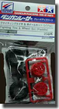 Tamiya Slot Cars   N/A DR Fighting Tire/Wheel Set TAM15322