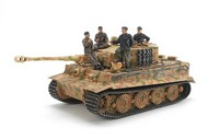 Tamiya  1/35 German Pz.Kpfw. VI Tiger I (Sd.Kfz. 181) Ausf E Late Version Tank w/Ace Commander & 3 Crew TAM25401