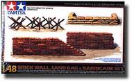Tamiya  1/48 Brick Wall/Barricade/Sandbags TAM32508