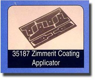 Tamiya  1/35 Zimmerit Coating Applicator TAM35187