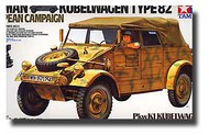 Tamiya  1/16 German Type 82 Kubelwagen European Campaign (Re-Issue) TAM36205