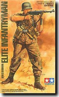 Tamiya  1/16 Elite Infantryman German WW II TAM36303
