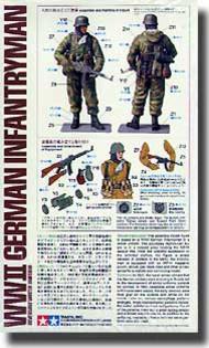 Tamiya  1/16 WW II German Infantryman (Reversible Uniform) TAM36304