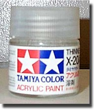 Tamiya Accessories  Tamiya-X Gloss Acrylic/Poly Thinner X-20A 23ml TAM81020