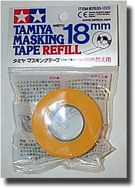 Tamiya Accessories  Masking Tape Masking Tape Refill 18mm TAM87035