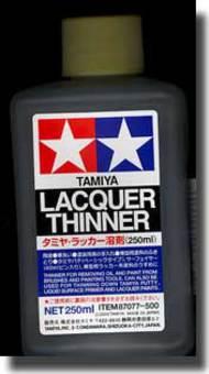 Tamiya Accessories  Thinner Tamiya Lacquer Thinner 250ml TAM87077