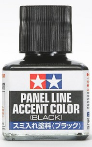 Black Panel Line Accent Color (40ml Bottle) #TAM87131