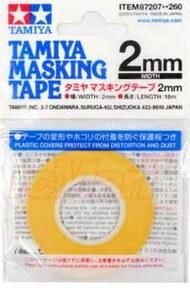 Tamiya  Masking Tape Masking Tape 2mm TAM87207