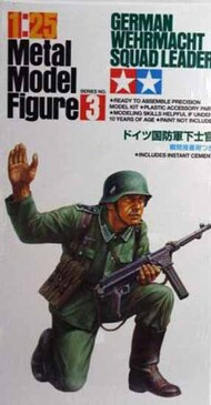 Tamiya  1/25 Collection - METAL FIGURE: German Wehrmacht Squad Leader TAMF0003