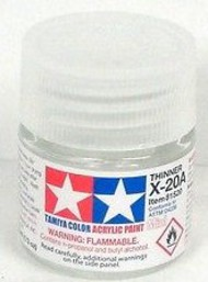 Tamiya Accessories  Tamiya-X Mini Gloss X-20A Mini Acrylic Thinner TAM81520