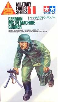 Tamiya  1/25 Collection - German MG34 Gunner TAMPF0001