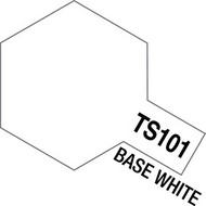 Tamiya Accessories  Tamiya Lacquer Spray Base White Lacquer TS-101 Spray TAM85101
