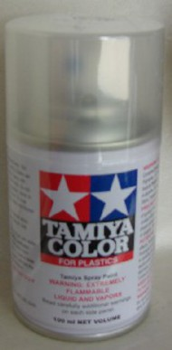 Tamiya Accessories  Tamiya Lacquer Spray Clear TS-13 Lacquer Spray TAM85013