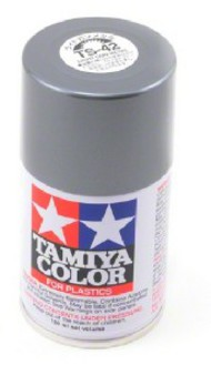 Tamiya Accessories  Tamiya Lacquer Spray Light Gun Metal TS-42 Lacquer Spray TAM85042