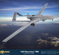 TanModel  1/24 Bayraktar TB2 Medium-Altitude Long-Range Unmanned Aircraft (New Tool) TMO2906