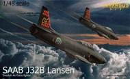 Saab J-32B 'Lansen' This kit has a completely new fuselage #TAR48002