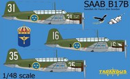 Saab B-17 Swedish Air Force dive bomber #TAR48010