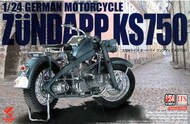 Asuka-Tasca Models  1/24  Zundapp KS750 German Motorcycle PLA24006