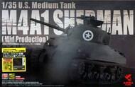 US Medium Tank M4A1 Sherman (Mid Production) with Adlers Nest Antenna Set #PLA35010SC