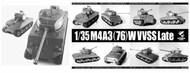 M4A3(76)W VVSS Late Sherman #PLA35043