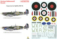 Techmod Decals  1/24 Supermarine Spitfire Mk Vb TCD24006