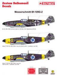 Techmod Decals  1/24 Messerschmitt Bf.109G-2 in Finnish service (3 TCD24007