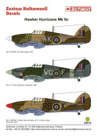 Techmod Decals  1/24 Hawker Hurricane Mk.IIc Hurricane IIc BP592, TCD24012
