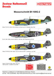 Techmod Decals  1/32 Messerschmitt Bf.109G-2 in Finnish service (4 TCD32024