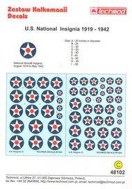 U.S.National Insignia 1919-1942 #TCD48102
