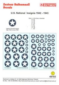 U.S.National Insignia 1942-1943 #TCD48103