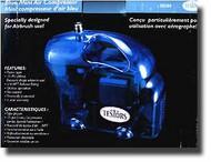 Testors  Compressor Blue Mini Air Compressor TES50204