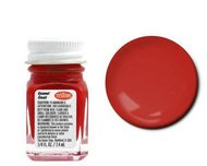 Testors  Testors 1/4oz Enamel 1/4oz. Bottle Finishing Enamel Stop Light Red TES1105