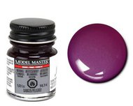 Testors  ModelMasterEnamel 1/2oz. Bottle Model Master Enamel Pearl Purple TES2774