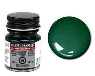 Testors  ModelMasterEnamel 1/2oz. Bottle Model Master Enamel Pearl Dark Green TES2779