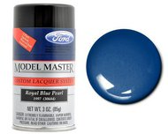 Testors  3ozSpray 3oz. Spray Model Master Auto Lacquer Ford Royal Blue Pearl TES28130