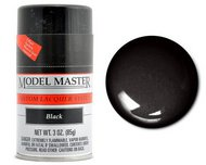 Testors  3ozSpray 3oz. Spray Model Master Auto Lacquer Black TES28133