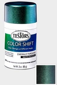 Testors  3ozSpray 3oz. Spray Color Shift Enamel Emerald Turquoise TES340908
