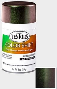 Testors  3ozSpray 3oz. Spray Color Shift Enamel Green Copper TES340911