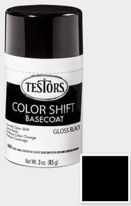 Testors  3ozSpray 3oz. Spray Color Shift Enamel Black Basecoat TES340912