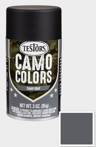 Testors  3ozSpray 3oz. Spray Camo Enamel Gray TES342306
