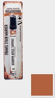 Testors  Testors Enamel Marker 1/3oz. Tube Model Master Weathered Enamel Stain Marker Rust TES342893