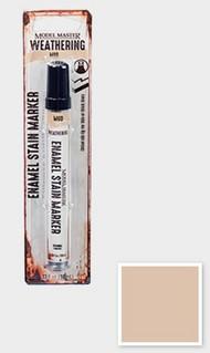 Testors  Testors Enamel Marker 1/3oz. Tube Model Master Weathered Enamel Stain Marker Mud TES342894