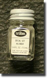 1/4 oz. Plain Decal Set Sol #TES8804