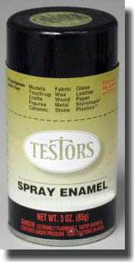 Testors  3ozSpray 3oz. Spray One Coat Metallic Lacquer Flaming Orange TES1840