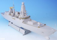 TETRA MODEL WORKS  1/350 HMS Type 45 Destroyer Detail-Up Set for TSM (D)<!-- _Disc_ --> TETSE35005