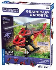 Geared-Up Gadgets 5-in-1 Models STEM Experiment Kit #THK555060