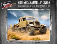 Thunder Model  1/35 British Scammell Pioneer TRMU30/TRCU30 3-Ton Tank Transporter (New Tool) TDM35200